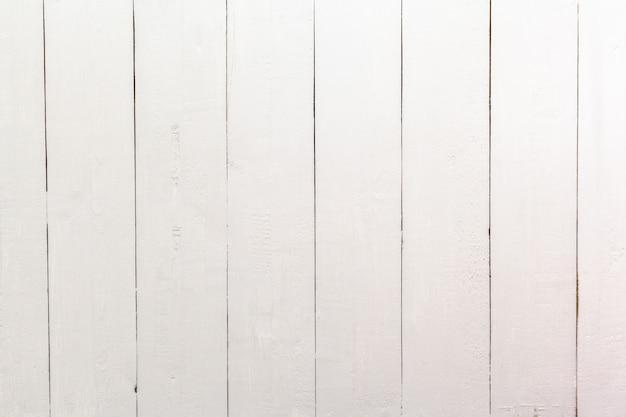 Tavolo con assi di legno bianco - Foto Premium