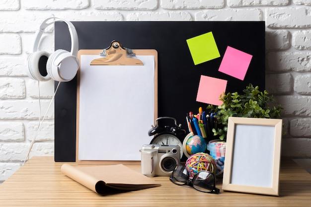 Tavolo da ufficio Foto Premium