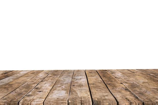 Tavolo realizzato con vecchie tavole senza sfondo Foto Gratuite