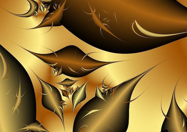 Tavolo struttura frattali onda sfondo struttura Foto Gratuite