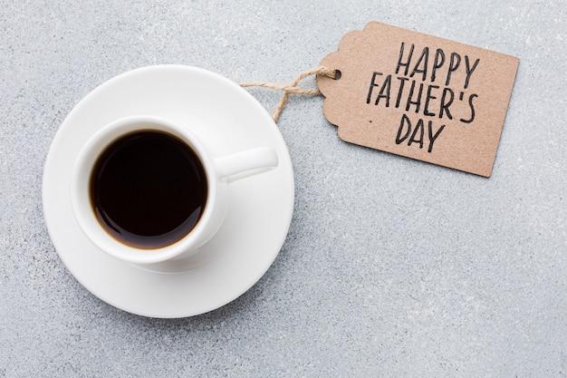 Tazza di caffè per la festa del papà Foto Gratuite