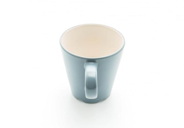 Tazza o tazza vuota Foto Premium