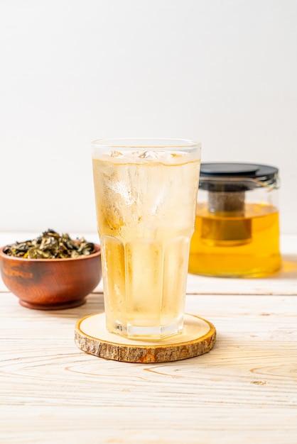 Tè freddo al gelsomino Foto Premium