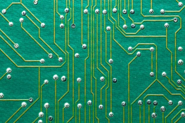 Tecnologia del circuito stampato elettronico Foto Premium