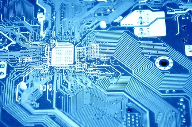 Tecnologia futura elettronica del sistema integrato Foto Gratuite