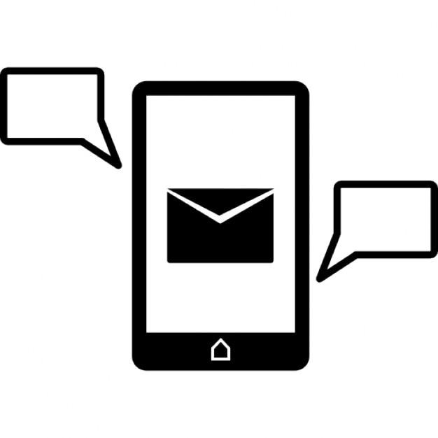 Simbolo Telefono Telefono Cellulare Simbolo
