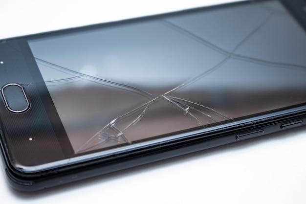 Telefono rotto rotto Foto Premium
