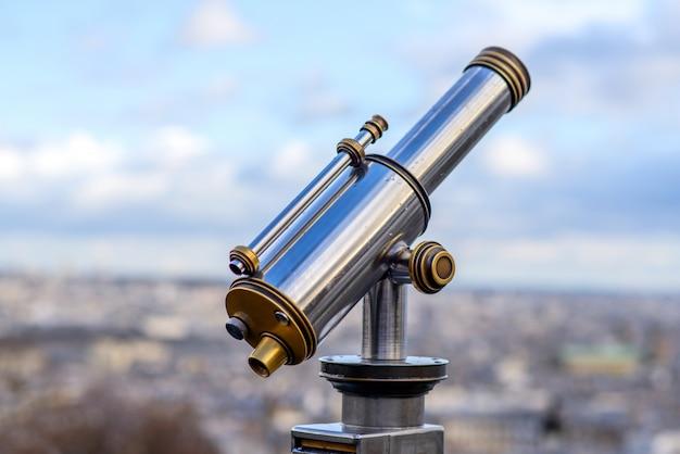 Telescopio stradale Foto Premium