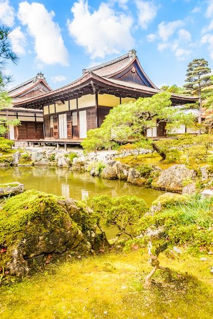 Tempio di ginkakuji Foto Gratuite