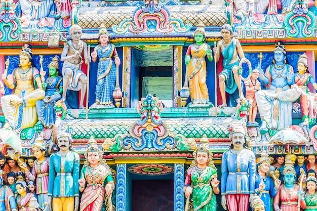 Tempio indù indiano in singapore Foto Gratuite