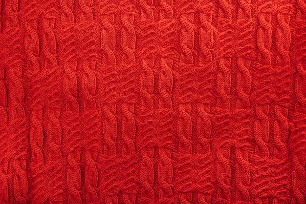 Tessile a maglia rossa Foto Gratuite