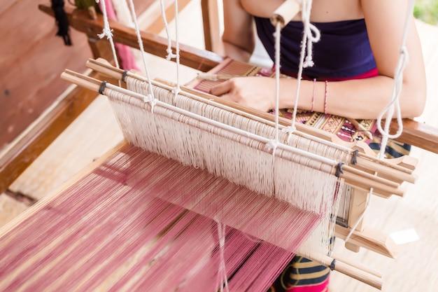 Tessitura, tailandia Foto Premium