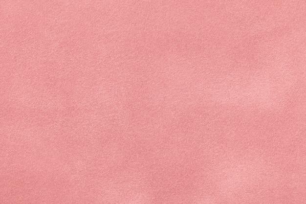 Tessuto rosa scamosciato opaco tessuto velluto, Foto Premium