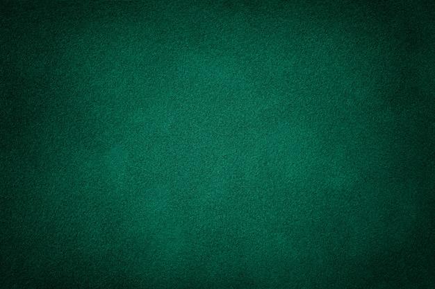 Tessuto scamosciato verde scuro opaco Foto Premium
