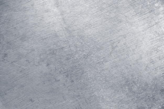 Texture di banda stagnata, metallo argento come sfondo Foto Premium