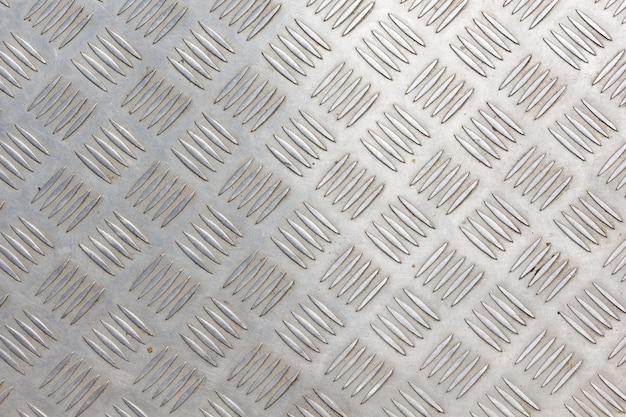 Texture di piastra per pavimento in acciaio inossidabile Foto Premium