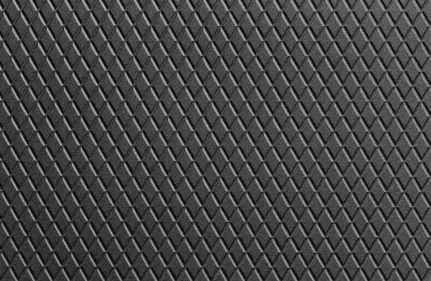 Texture di sfondo in pelle nera. Foto Premium