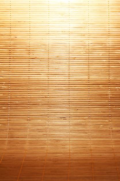 Texture di tappetino in legno Foto Gratuite