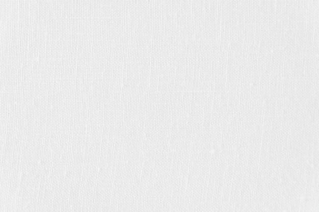 Texture e superficie di tela bianca astratta Foto Gratuite