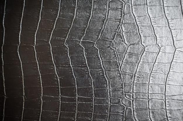 Texture in pelle nera Foto Gratuite