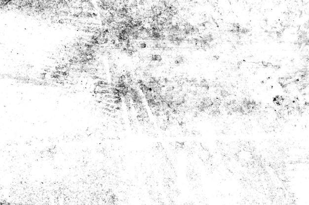 Texture stile grunge astratto bianco e nero. struttura astratta d'annata di vecchia superficie. trama di crepe, graffi e scheggiature. Foto Premium
