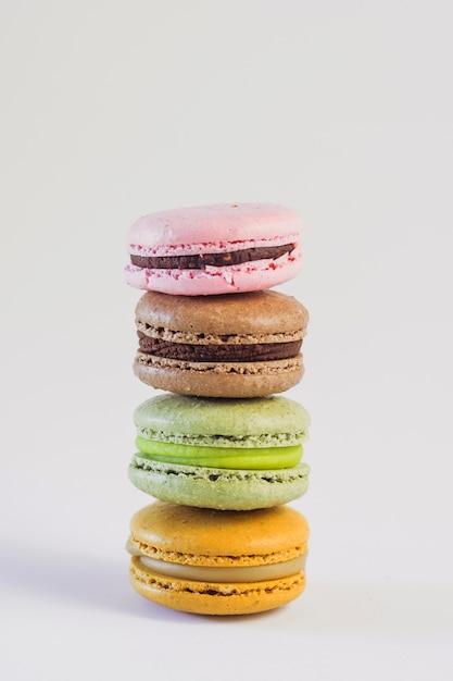 Torre macaron color pastello Foto Gratuite