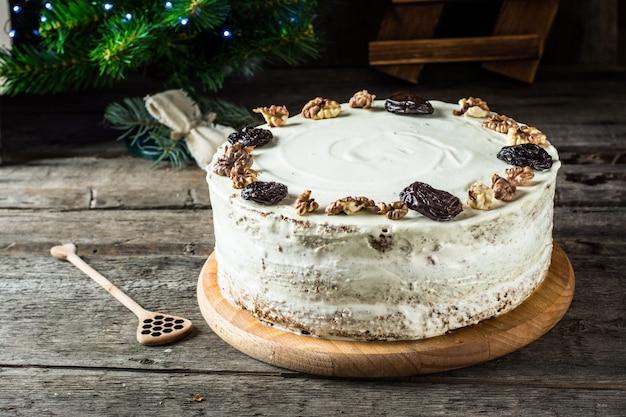 Torta Al Miele Torta Di Natale Nuovo Anno Angelo Cervo