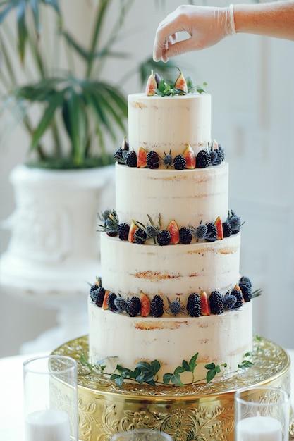 Torta nuziale carina Foto Gratuite