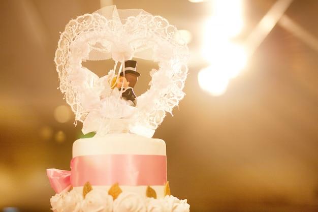 Torta nuziale Foto Premium