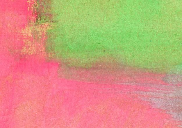 Trama acquerello rosa e verde Foto Gratuite