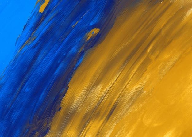 Trama blu e giallo Foto Gratuite
