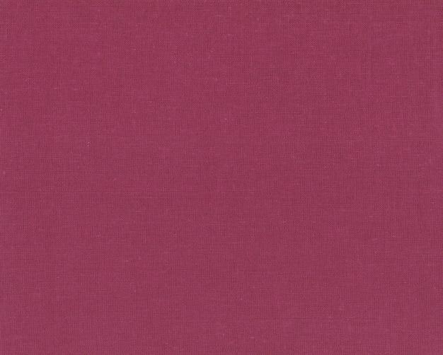Trama del tessuto di lino marsala Foto Premium