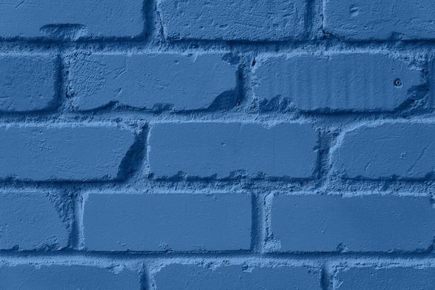 Trama di muro di mattoni di menta. sfondo con copia spazio per il design. colore blu e calmo alla moda. Foto Premium