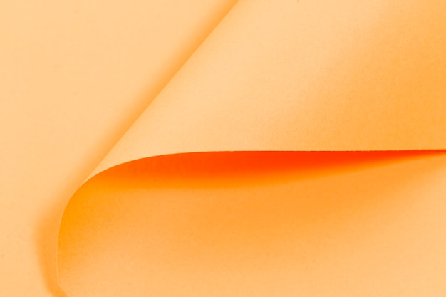 Trama di pagine ricci arancione con spazio di copia Foto Gratuite