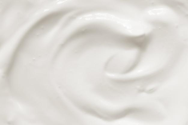 Trama di yogurt panna acida Foto Premium