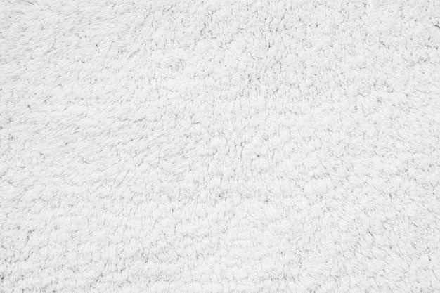 Trame e superficie del tappeto in cotone bianco Foto Gratuite
