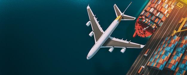 Trasporto e logistica. Foto Premium