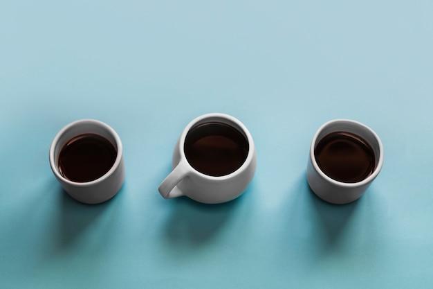 Tre tazze di caffè Foto Gratuite