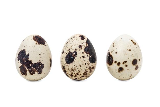 Tre uova di quaglia Foto Gratuite