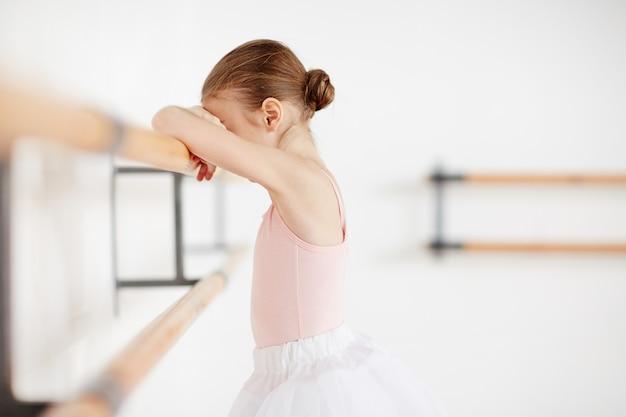 Triste ballerina Foto Gratuite