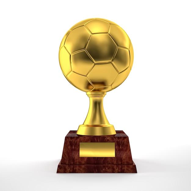 Trofeo di calcio Foto Premium