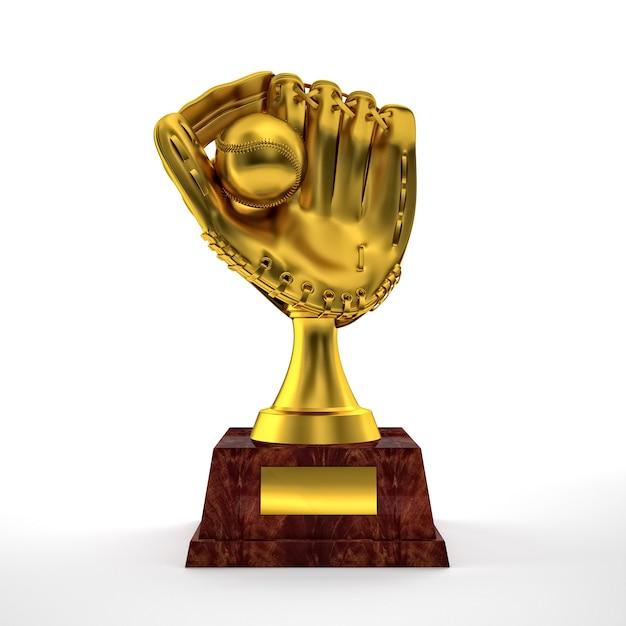 Trofeo per guanti Foto Premium