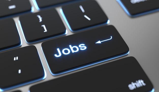 Trova un concetto di lavoro. Foto Premium