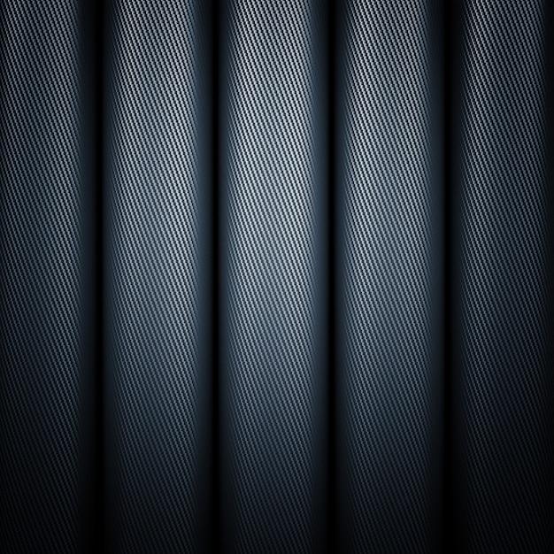 Tubi in fibra di carbonio Foto Premium