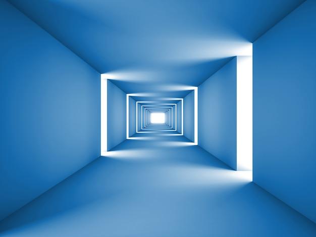 Tunnel astratto Foto Premium