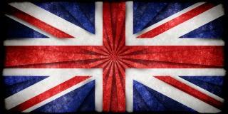 Uk grunge flag Foto Gratuite