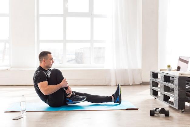 Uomo fitness Foto Gratuite