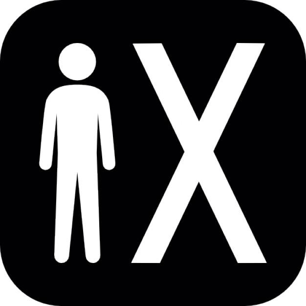 Simbolo Quadrato Con X  Black Hairstyle and Haircuts