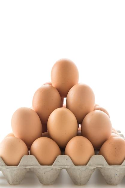 Uova di gallina Foto Gratuite