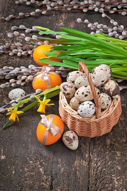 Uova di pasqua colorate Foto Gratuite